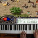 牛人钢琴弹奏《热血传奇》背景音乐