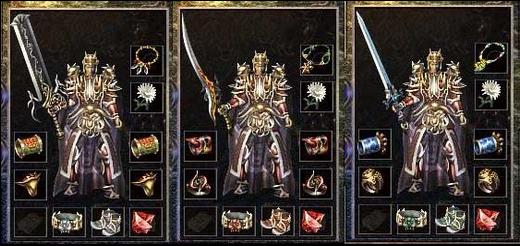 战神、圣魔、真魂套装